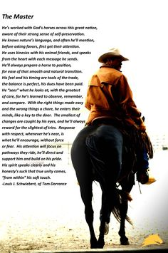 Let us help you master the art of horsemanship too. www.parelli.com