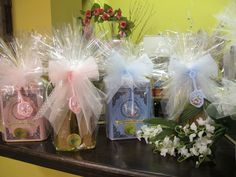 These teas make wonderful favors for parties, weddings, and showers!