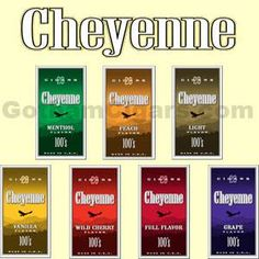 Cheyenne International introduced this line in 2004, with a homogenized wrapper and short-fill, American-grown tobacco inside. #cheyenne #cheyennefilteredcigars #filteredcigars #fruitflavors