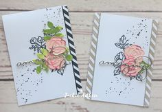 Good Day Crafty Friends, Hope you are having a fabulous day. A quick post today to share two cards I created recently using two of m...
