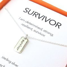 Survivor Charm Necklace Set - Gold / 18