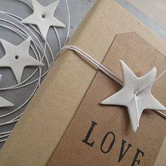 Geschenkverpackung mit Stern