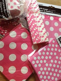 The Pink Party Box Company - Pink Dot Party for 10 children