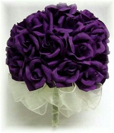 .Purple roses! Love, love, love..