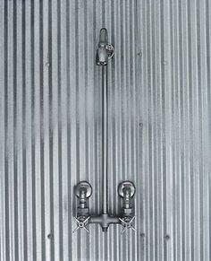 galvanized metal