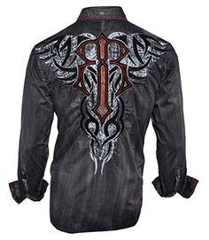 Men's Roar Structure Long Sleeve Button Down Shirt Charcoal Grey (Small) Roar http://www.amazon.com/dp/B01BNZ8GWE/ref=cm_sw_r_pi_dp_Y3k4wb0P1ZR01