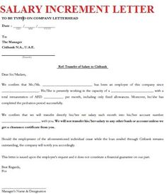 Image result for yearly salary increment letter format in word salary increment letter format letters font thecheapjerseys Choice Image