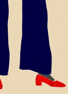 Artist Rosie Mcguinness at Illustration Division Painting Inspiration, Art Inspo, Mode Collage, Illustration Mode, Fashion Sketches, Fashion Art, Illustrators, Design Art, Cool Art