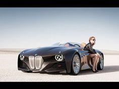 BMW Vision Self Driving Car World Premiere 2016 New BMW Vision Concept b...
