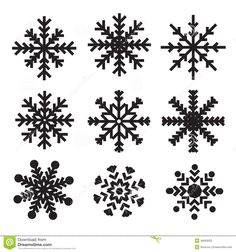 snowflakes snowflake clipart black and white free clipart 2 rh pinterest com snowflake pictures clip art Snowflake Patterns