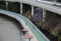 The best cycling infrastructure in cities around the world – your pictures Brisbane River Loop