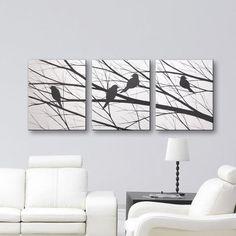 Hey, j'ai trouvé ce super article sur Etsy, chez https://www.etsy.com/fr/listing/265006512/vente-oiseaux-wall-art-toile-art