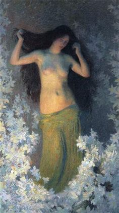 The Beauty - Henri Martin