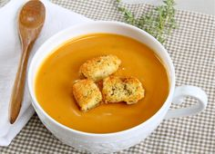 Sweet Potato Bisque: new fall soup at the restaurant?