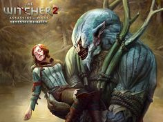 Where is Triss Merigold? (wallpaper) by CG-Zander.deviantart.com on @DeviantArt