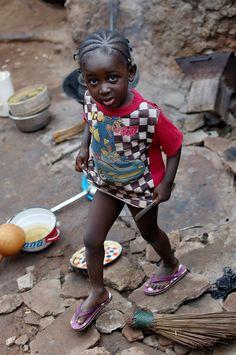 Precious little one . Burkina Faso