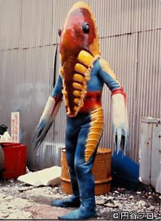Sea Of Monsters, Scary Monsters, Japanese Show, Japanese Toys, Japanese Superheroes, Japanese Monster, Weird Science, Vintage Horror, Retro Futurism