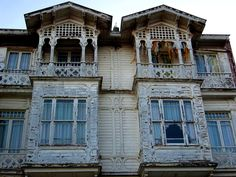 Heybeliada wooden house III by setenay Urban Architecture, Wooden House, Ottoman Empire, Istanbul Turkey, 14th Century, Present Day, Byzantine, Historic Homes, Victorian Homes