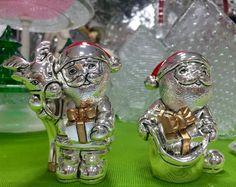 Babbo Natale in argento. Cosa ci porterà quest'anno? Disponibile nello store