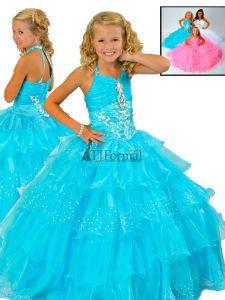 Ritzee Girls Pageant Dress 6002