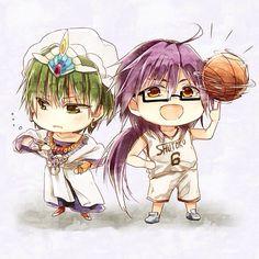 Magi: The Labyrinth of Magic & Kuroko no Basket #chibi
