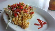 Conch tacos at Island Grill in Islamorada