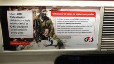 Israeli fury at unofficial ads on London Underground   The Electronic Intifada