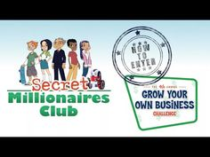 Secret Millionaires Club - The webisodes are about Financial Literacy and there are lesson plans for the classroom and parents.