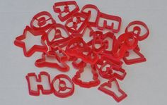 Vintage Cookie Cutters Jello Jiggler Cutters by CakeBoxVintage, $12.00