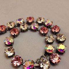 Sabika inspired swarovski crystal necklace choker Mariana like on Etsy, $75.00