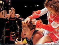 Akira Hokuto wrestling Lioness Asuka