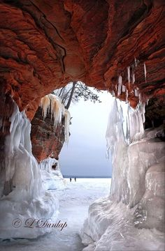 Apostle Islands National Lakeshore, Wisconsin. See Wisconsin's 10 Beautiful Spots You Need to Visit at TheCultureTrip.com by clicking here