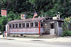 Miss Bellows Falls Diner ~ Bellows Falls - Windham County, VT