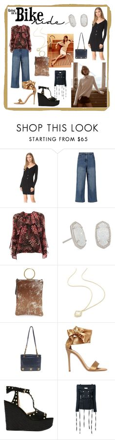 """Express your Style"" by denisee-denisee ❤ liked on Polyvore featuring Ÿù, TIBI, Giambattista Valli, Kendra Scott, Oliveve, Gianvito Rossi, Ash and Faith Connexion"