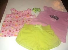 NWT Gymboree HOP N ROLL Girls Size 6 or 7 Skirt Skort /& Tee Shirt Top 2-PC SET