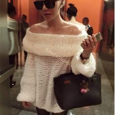 Cheap Pullovers, Buy Directly from China Suppliers:                                                         Women's Retro Chunky off The Shoulder Sweater Knitted Pullover