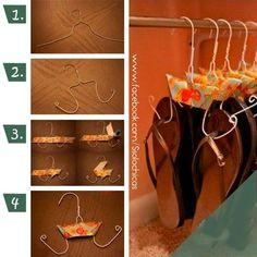 1000 images about organizate ya on pinterest zapatos for Ganchos para colgar botas