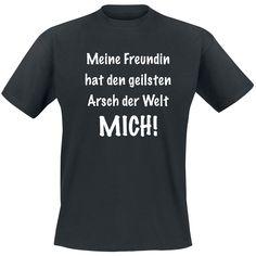 Geilster Arsch  T-Shirt  »Geilster Arsch« | Jetzt bei EMP kaufen | Mehr Fun-Merch  T-Shirts  online verfügbar ✓ Unschlagbar günstig!