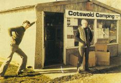 How & where it all started - the small outbuilding called Cotswold Camping in South Cerney. Featuring the founders Tony Ingham and Charlie Barwell