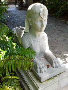 Beau Statue At Vizcaya   Miami