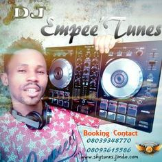 Skytunes Media - DJ Empee'Tunes 2017 Afro Beat HD Mix Cover Art