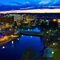 Wow, Spokane Washington is amazing! I will live here one day!