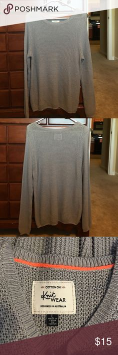 Cotton on knit sweater