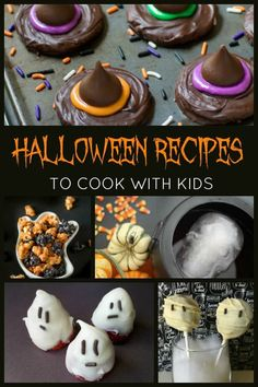 Tried and tested easy Halloween Recipes perfect for cooking with your kids. Delicious fun spooky treats, snacks and meal ideas that you can cook together. Halloween Food Crafts, Halloween Snacks For Kids, Halloween Treats For Kids, Halloween Desserts, Spooky Treats, Halloween Halloween, Cooking With Toddlers, Kids Cooking Recipes, Kids Meals