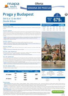 Praga y Budapest Semana de Pascua salida Bilbao **Precio Final desde 679** ultimo minuto - http://zocotours.com/praga-y-budapest-semana-de-pascua-salida-bilbao-precio-final-desde-679-ultimo-minuto-2/