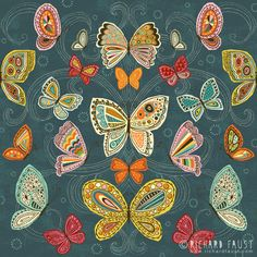 ©Richard Faust - 'Butterfly Pattern' www.richardfaust.com