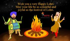 Wish you a very Happy Lohri! May your life be as colorful and joyful as the festival of Lohri. #HappyLohri #Lohri