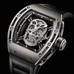 Richard Mille Tourbillon RM 052 Skull Watch   Freshness