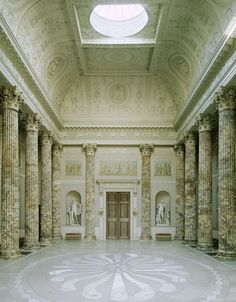 Robert Adam | Kedleston Hall, Marble Hall