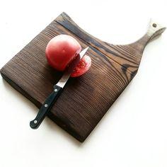 Cutting board. Pine wood burned by SSB method.
